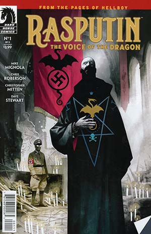 Rasputin Voice Of The Dragon #1 Cover A Regular Mike Huddleston Cover
