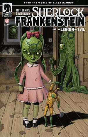 Sherlock Frankenstein And The Legion Of Evil #2 Cover B Variant Dean Ormston Cover