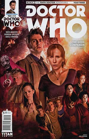 Doctor Who 10th Doctor Year Three #11 Cover B Variant Photo Cover