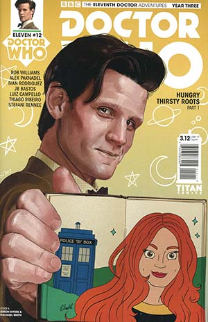 Doctor Who 11th Doctor Year Three #12 Cover A Regular Simon Myers & Rachael Smith Cover