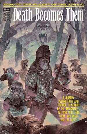 Kong On The Planet Of The Apes #1 Cover C Variant Hans Woody Pulp Subscription Cover