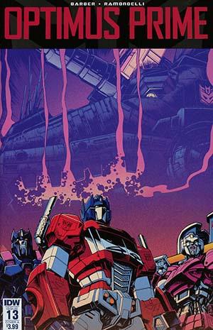 Optimus Prime #13 Cover A Regular Kei Zama Cover