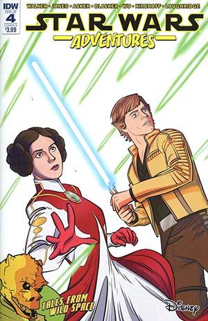 Star Wars Adventures #4 Cover A Regular Jon Sommariva Cover