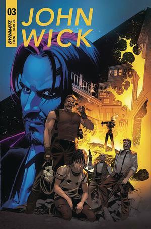 John Wick #3 Cover A Regular Giovanni Valletta Cover