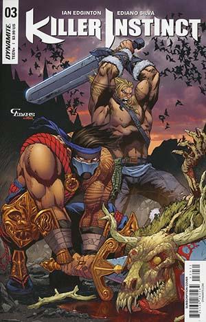 Killer Instinct Vol 2 #3 Cover C Variant Cam Adams Subscription Cover