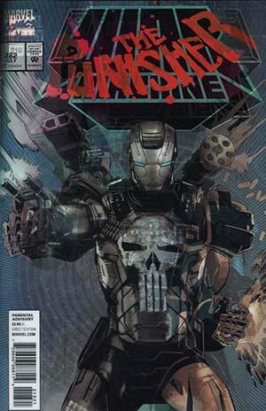 Punisher Vol 10 #218 Cover B Variant Tim Bradstreet Lenticular Homage Cover (Marvel Legacy Tie-In)