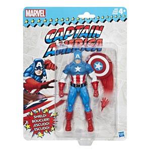 Marvel Vintage Legends 6-Inch Action Figure - Captain America