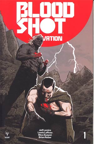 Bloodshot Salvation #1 Cover E Incentive Greg Smallwood Interlocking Variant Cover