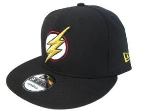 Justice League Movie Flash Symbol Black 950 Snapback