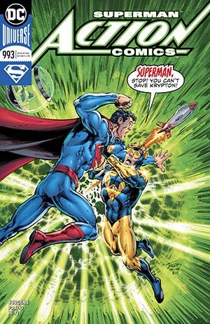 Action Comics Vol 2 #993 Cover A Regular Dan Jurgens & Trevor Scott Cover
