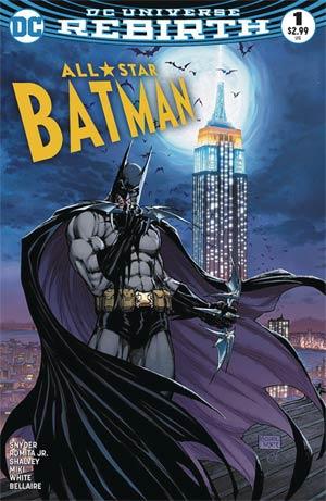 All-Star Batman #1 Cover R Variant Michael Turner & Peter Steigerwald Aspen Comics Color Cover