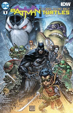 Batman Teenage Mutant Ninja Turtles II #1 Cover A Regular Freddie E Williams II Cover