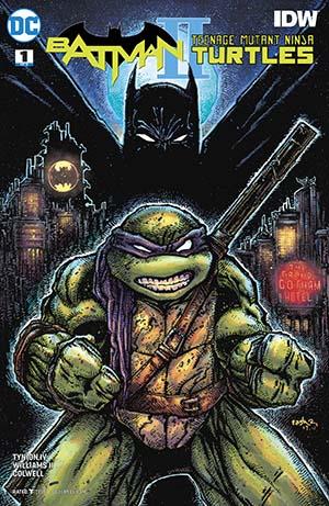Batman Teenage Mutant Ninja Turtles II #1 Cover B Variant Kevin Eastman Cover