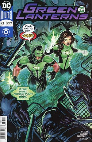 Green Lanterns #37 Cover A Regular Mike McKone Cover