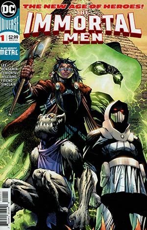 Immortal Men #1 Cover A Regular Jim Lee & Scott Williams Vertical Foldout Cover