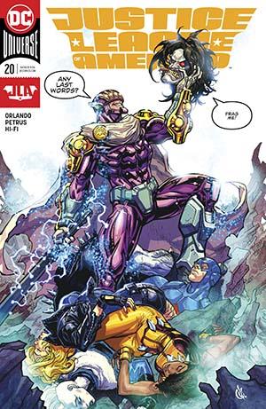 Justice League Of America Vol 5 #20 Cover A Regular Carlos DAnda Cover