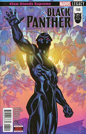Black Panther Vol 6 #168 Cover A Regular Brian Stelfreeze Cover (Marvel Legacy Tie-In)