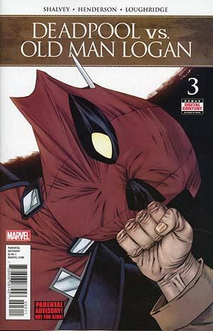 Deadpool vs Old Man Logan #3 Cover A Regular Declan Shalvey Cover