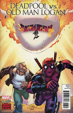 Deadpool vs Old Man Logan #3 Cover B Variant Ron Lim Cover