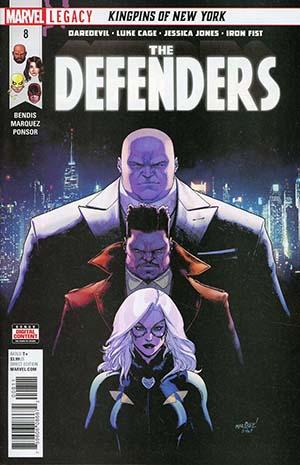 Defenders Vol 5 #8 (Marvel Legacy Tie-In)