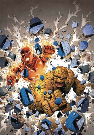 Marvel Two-In-One Vol 3 #1 Cover A Regular Jim Cheung Cover (Marvel Legacy Tie-In)