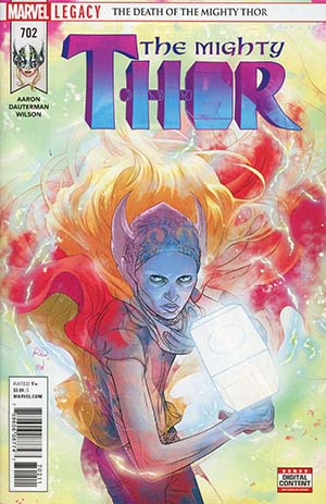 Mighty Thor Vol 2 #702 Cover A Regular Russell Dauterman Cover (Marvel Legacy Tie-In)