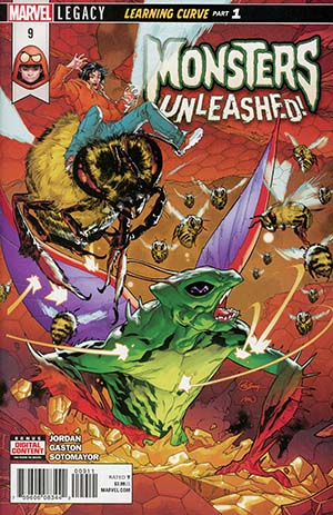 Monsters Unleashed Vol 2 #9 (Marvel Legacy Tie-In)