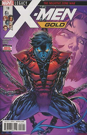 X-Men Gold #18 (Marvel Legacy Tie-In)