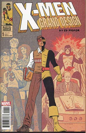 X-Men Grand Design #1 Cover A Regular Ed Piskor Cover