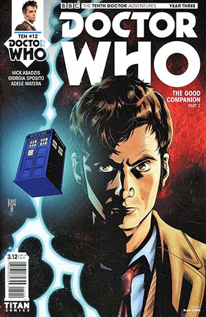 Doctor Who 10th Doctor Year Three #12 Cover A Regular Blair Shedd Cover