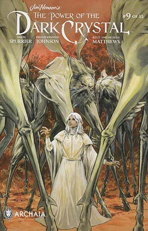 Jim Hensons Power Of The Dark Crystal #9 Cover A Regular Mark Buckingham Cover