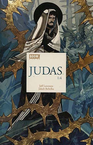 Judas #1 Cover A Regular Jakub Rebelka Cover