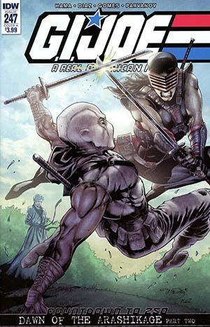 GI Joe A Real American Hero #247 Cover A 1st Ptg Regular Netho Diaz Cover