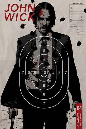John Wick #4 Cover B Variant Ben Garriga Cover
