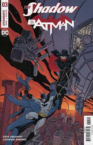 Shadow Batman #3 Cover A Regular Michael William Kaluta Cover