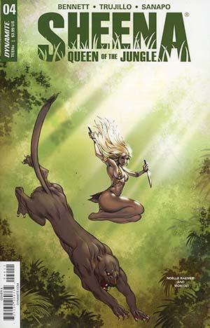 Sheena Vol 4 #4 Cover A Regular Moritat Cover