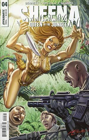 Sheena Vol 4 #4 Cover C Variant Marco Santucci Cover