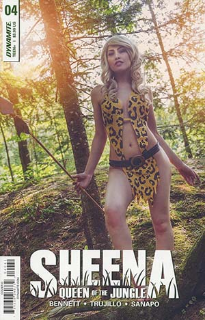 Sheena Vol 4 #4 Cover D Variant Cosplay Photo Cover
