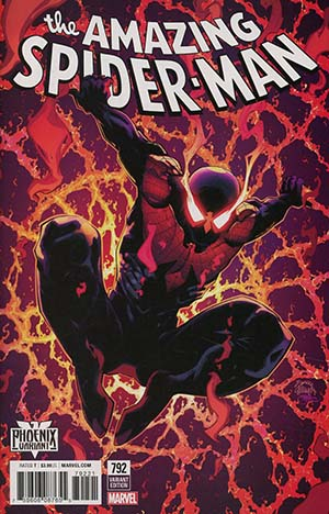 Amazing Spider-Man Vol 4 #792 Cover B Variant Ryan Stegman Phoenix Cover (Venom Inc Part 2)(Marvel Legacy Tie-In)