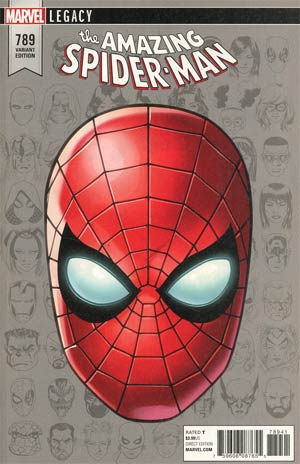 Amazing Spider-Man Vol 4 #789 Cover D Incentive Mike McKone Legacy Headshot Variant Cover (Marvel Legacy Tie-In)