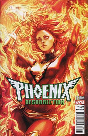 Phoenix Resurrection Return Of (Adult) Jean Grey #1 Cover C Variant Stanley Artgerm Lau Red Costume Cover (Marvel Legacy Tie-In)