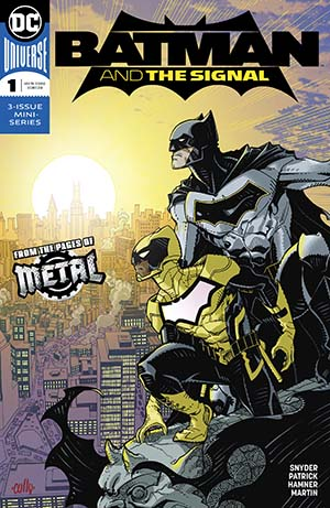 Batman And The Signal #1 Cover A Regular Cully Hamner Cover (Dark Nights Metal Tie-In)