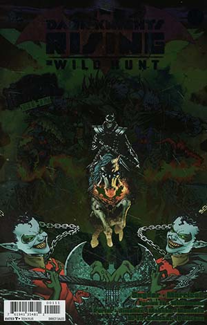 Dark Knights Rising The Wild Hunt #1 Cover A Regular Doug Mahnke Foil-Stamped Cover (Dark Nights Metal Tie-In)