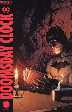 Doomsday Clock #3 Cover B Variant Gary Frank Cover