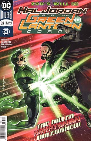 Hal Jordan And The Green Lantern Corps #37 Cover A Regular Rafa Sandoval & Jordi Tarragona Cover