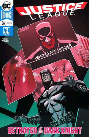 Justice League Vol 3 #36 Cover A Regular Pete Woods Cover