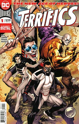 Terrifics #1 Cover A Regular Ivan Reis Vertical Foldout Cover