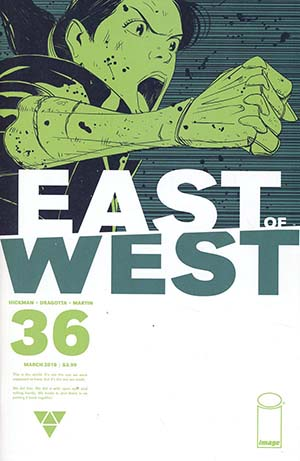 East Of West #36 Cover A Regular Nick Dragotta Cover