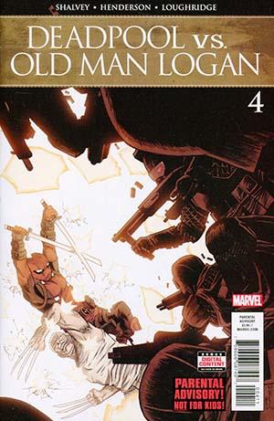 Deadpool vs Old Man Logan #4 Cover A Regular Declan Shalvey Cover (Marvel Legacy Tie-In)
