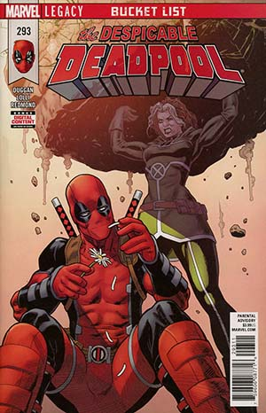 Despicable Deadpool #293 Cover A Regular Mike Hawthorne Cover (Marvel Legacy Tie-In)